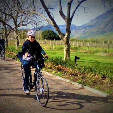 2.5 hr E-Bike Tour R 250 pp